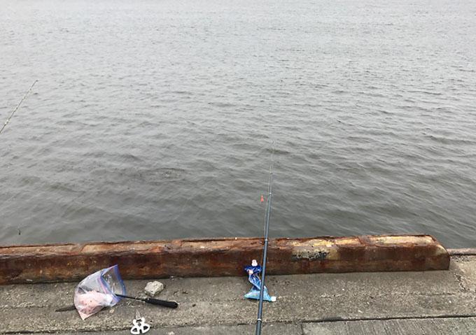 銚子漁港_釣り_8月