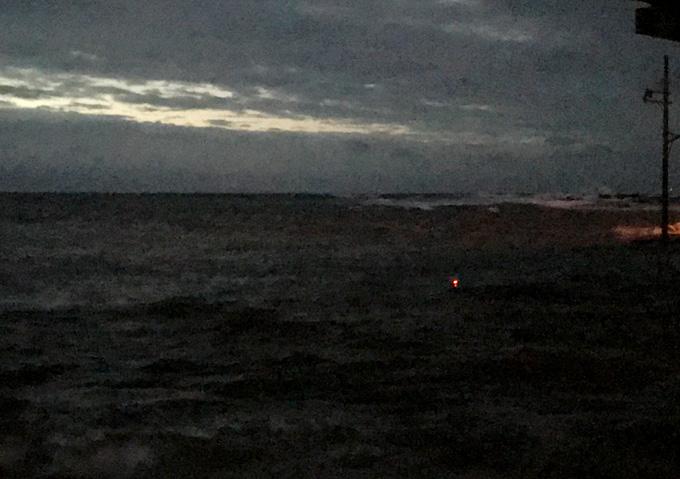 夜釣り/白間津港/カゴ釣り堤防