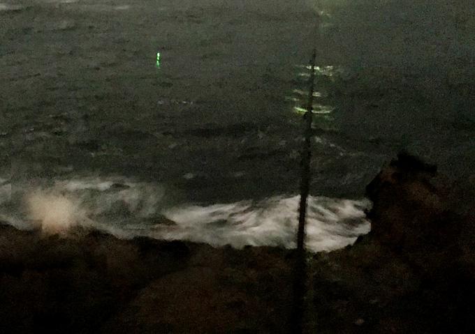 【夜釣り/カゴ仕掛け】40cmのクロダイが!(千葉外房/勝浦・鴨川)磯