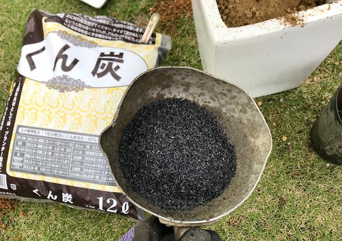 【観葉植物/ウンベラータ】肥料/くん炭