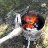 【キャンプ用品/火起し器】放置しても着火するので超楽チン。火消し壺&炭起しで簡単BBQ。