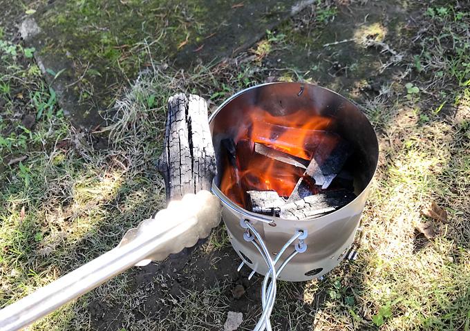 【キャンプ/火起こし】キャプテンスタックの壺で簡単バーベキュー。釣った魚でBBQ