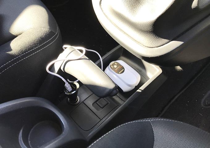 【釣り/エアポンプ】充電式(USB)な防水ブクブク。コトブキOXY-1400