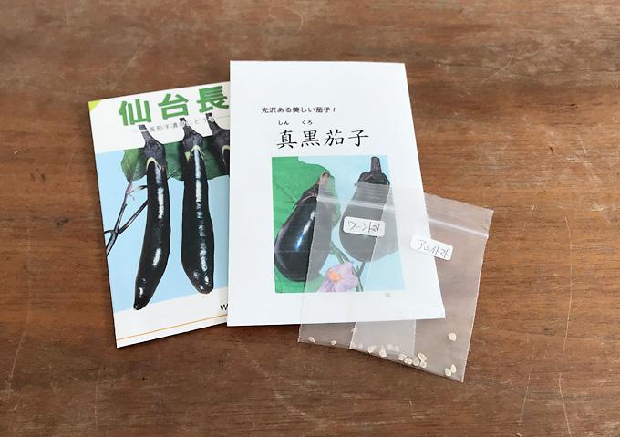 【芽出し】固定種のタネ「アロイトマト」「仙台長ナス」発芽率の比較
