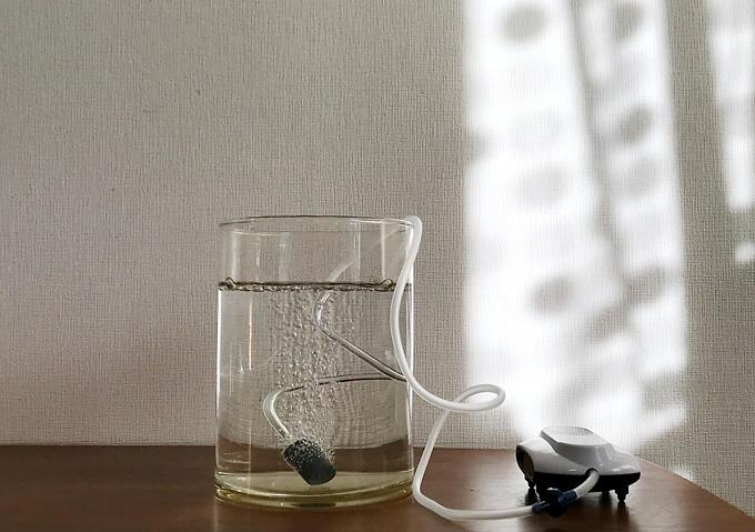 【釣り/エアポンプ】給気量十分!充電式(USB)な防水ブクブク。コトブキOXY-1400
