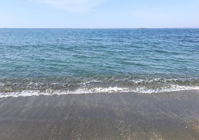 【内房/シーグラス】ビーチコーミングができる砂浜