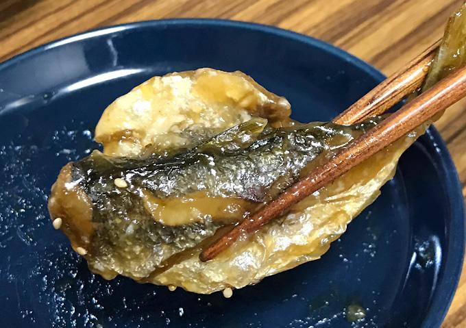 【釣り飯レシピ】簡単骨まで食べれるアジの南蛮和え