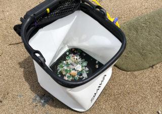 【銚子/ビーチコーミング】大潮の干潮に海岸でシーグラス拾いを楽しみます。