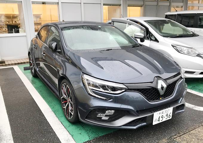 メガーヌRSトロフィーのフェイス/試乗インプレ