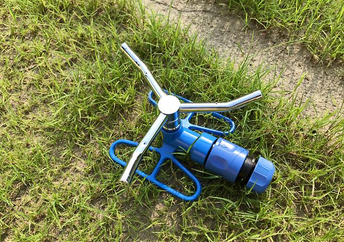 【芝生用/DIY】スプリンクラー/ホースに簡単装着可能